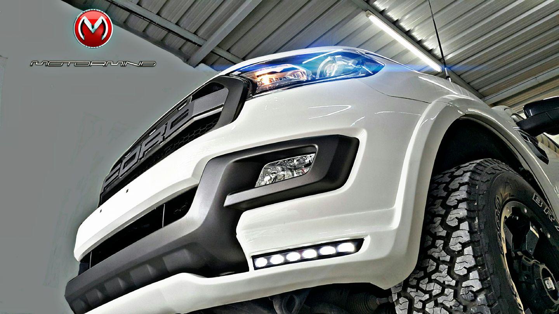 Phía trước đầu xe Everest được Motormind Automotive Design thiết kế